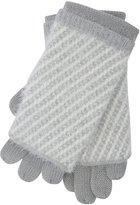 M&Co Two piece eyelash knit glove