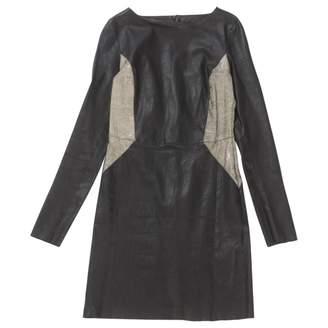 Drome \N Black Leather Dresses