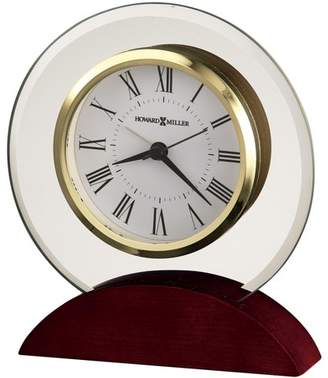 Howard Miller Dana Tabletop Clock 645-698 - Round & Decorative with Quartz Movement