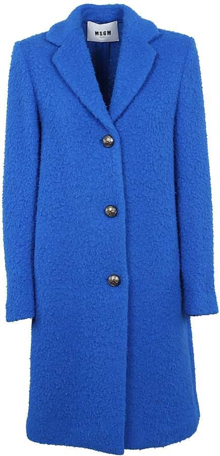 MSGM Single Breasted Coat