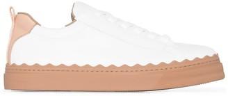 Chloé Scallop-Detail Sneakers