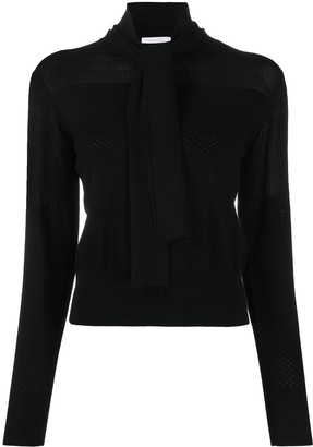 See by Chloe Tied Neck Jumper
