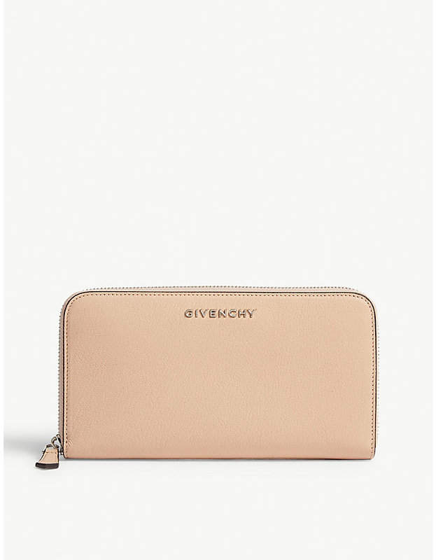 Givenchy Pandora grained leather wallet