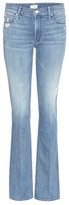 Mother The Runway Flared Denim Jeans