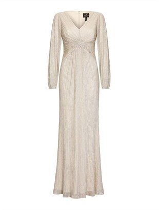 Adrianna Papell AP Glitter Knit Gown Ld01