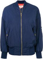 MICHAEL Michael Kors long sleeved bomber jacket