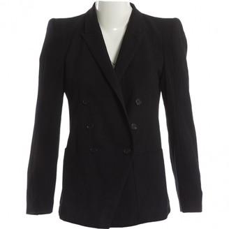 Band Of Outsiders Black Wool Jackets