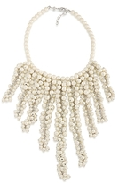Carolee Faux Pearl Collar Necklace, 16