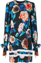 MSGM floral ribbon detail dress