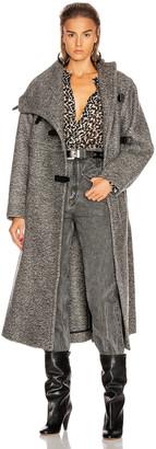 Isabel Marant Natacha Coat in Grey | FWRD