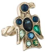 Chanel Embellished Eagle Ring
