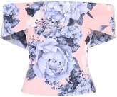 Jane Norman Print Bardot Top