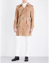 Ralph Lauren Purple Label Elvington Suede Coat