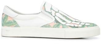 Amiri Skel-Toe slip-on sneakers