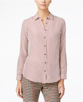 Max Mara Silk Striped Shirt
