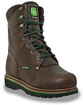 "John Deere 8"" Safety Toe Met Guard Work Boots Casual Male XL Big & Tall"