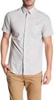 Report Collection Short Sleeve Fleck Plain Sport Shirt