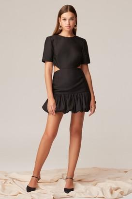 Keepsake CRANES MINI DRESS Black