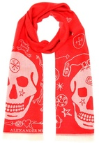 Alexander McQueen Wool scarf