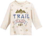 First Impressions Baby Boys' Long-Sleeve Graphic-Print T-Shirt, Only at Macy's