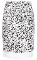 Carolina Herrera Speckled Tweed Skirt