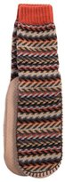 Muk Luks Slippers Mens Pull On Sock Acrylic L XL 11-13 Multi 0016342