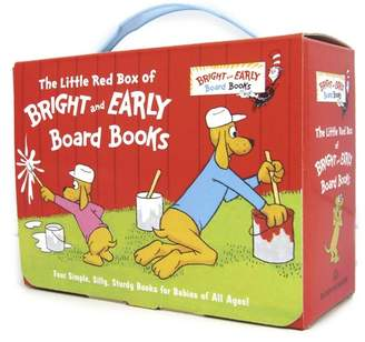 Penguin Random House The Little Red Box of Bright and Early Board Books
