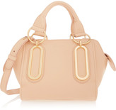 See by Chloe Paige small textured-leather shoulder bag