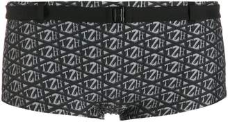 Tommy Hilfiger all over logo print bikini bottom