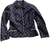 Christian Dior Blue Silk Jacket