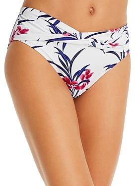 Tommy Bahama Oasis High-Waist Twist Front Bikini Bottom