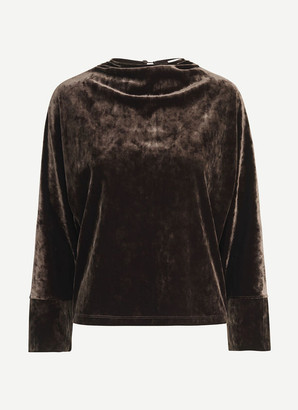 Samsoe & Samsoe Long Sleeves Silja T Shirt - Size S   polyester