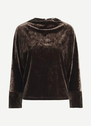 Samsoe & Samsoe Samsoesamsoe SamsoeSamsoe - Long Sleeves Silja T Shirt - Size S | polyester