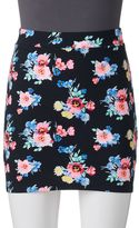 Juniors' SO® Bodycon Mini Skirt