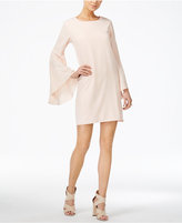 Bar III Bell-Sleeve Shift Dress, Only at Macy's