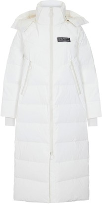 Puffa Whyte Studio The Obey Coat - White
