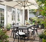 Pottery Barn Concrete Dining Table Set