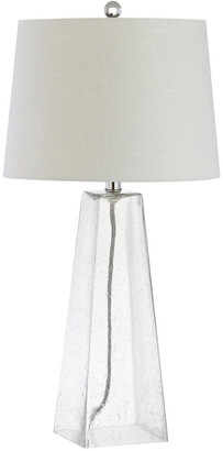 Jonathan Y Designs Dylan 28.5In Glass Led Table Lamp