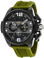 Diesel Ironside DZ4391 Men's Black Stainless Steel and Silicone Chronograph Watch