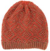 Muk Luks Women's Gaucho Knit Geometric Beanie