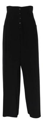 Jasmine Di Milo Black Silk Trousers for Women