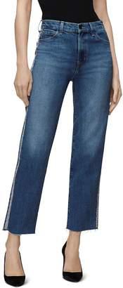 J Brand Jules High-Rise Straight Jeans in Urbanite