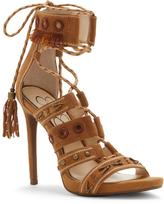 Jessica Simpson Roona Suede Lace-Up Dress Sandal