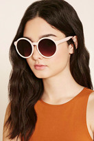 Forever 21 Metal-Trim Round Sunglasses