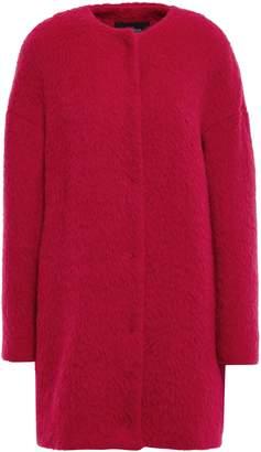 Giambattista Valli Brushed Wool, Alpaca And Silk-blend Coat