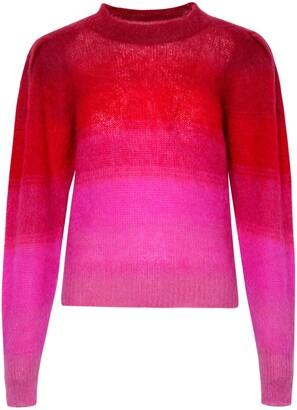 Isabel Marant Etoile Ribbed Hem Gradient Knit Jumper