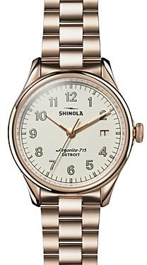 Shinola The Vinton Gold-Tone Watch, 38mm