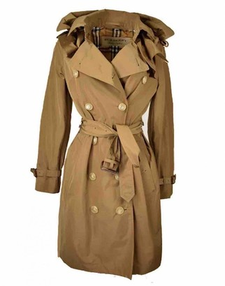 Burberry Brown Trench Coat for Women