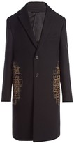Fendi Blurred FF Overcoat