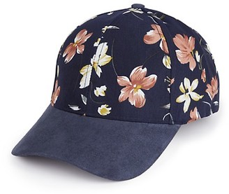Vince Camuto Floral Ball Cap